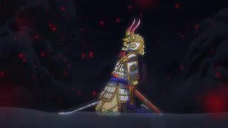 ワンピースアニメ 994話 | 残雪の菊の丞 お菊 | ONE PIECE  Kikunojo Okiku