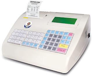 Retail Billing Machine WeP BP-2100 Wipro Electronic Cash Register