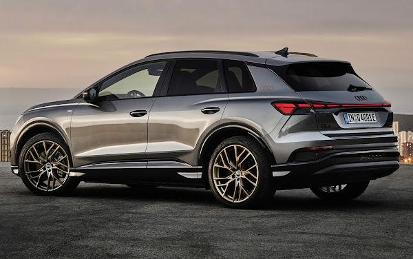 Q4 e-tron: plataforma e produção compartilhada com VW ID.3, mas identidade Audi