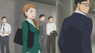 ハイキュー!! アニメ 2期3話 谷地円   HAIKYU!! Season2 Karasuno