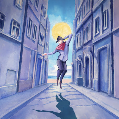 Yorushika - Howling At The Moon lyrics terjemahan arti lirik kanji romaji indonesia translations 歌詞 info lagu digital single puisi