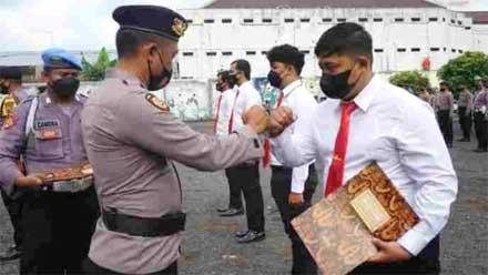 Delapan Anggota Polres Magelang Kota Dapat Reward