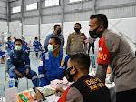 Alumni AKABRI 99 Polres Aceh Timur Gelar Vaksinasi di PT. Medco