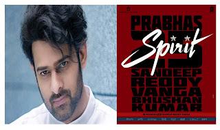 Superstar Prabhas,Bhushan Kumar,Sandeep Reddy Vanga,T-Series,Bhadrakali pictures,25th film,entertainment news,upcoming movie,south actors,Film Spirit,India's biggest Superstar Prabhas