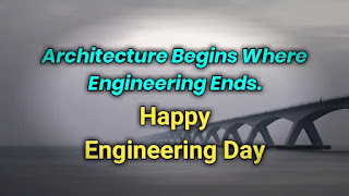 Engineering Wishes Happy Engineers Day