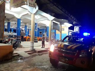 Patroli, Personel Polsek Anggeraja Polres Enrekang Sampaikan Beberapa Himbauan