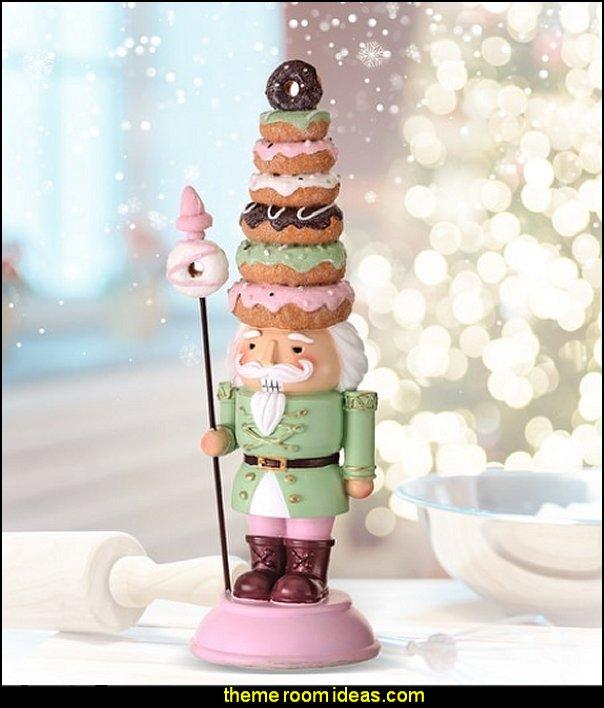 Doughnut Hat Nutcracker decoration christmas candy christmas decorating