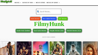 FilmyHunk: Download South Hindi Dubbed 720p HD Dual Audio Movies Free, Filmy Hunk
