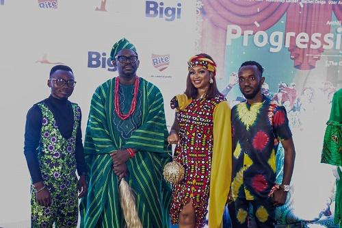 Bigi Supports Movie Industry, Sponsors Progressive Tailors Club Movie Premiere