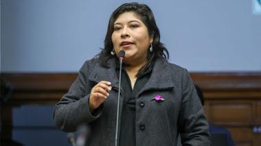 Betssy Chávez, nueva ministra de Trabajo