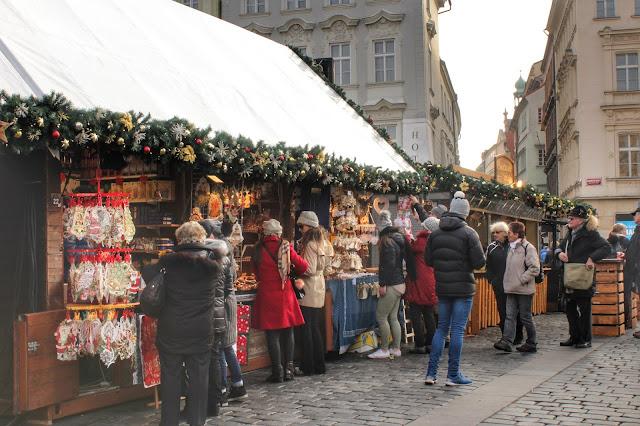 Christmas Market Prague Old Town Czech Republic