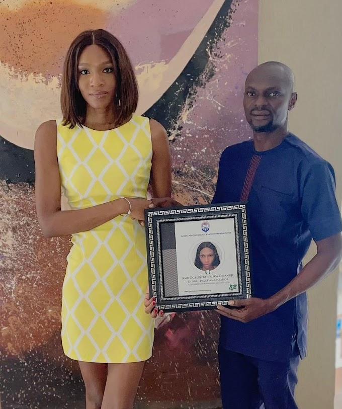 Global Peace Advocacy And Empowerment Initiative Confirms Ogbuneke Prisca As Global Peace Ambassador