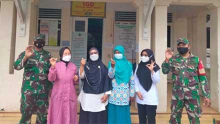TNI Adakan Pelayanan KB MKJP Gratis di Purworejo