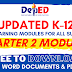 (Free Download) 2nd Quarter Self Learning Modules | All Grade Levels | All Subjects