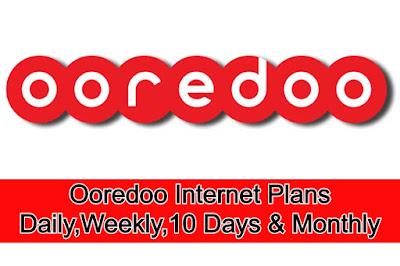 Ooredoo Internet Plans
