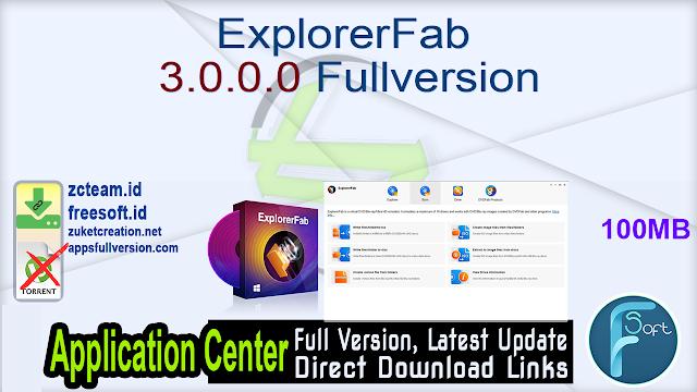 ExplorerFab 3.0.0.0 Fullversion