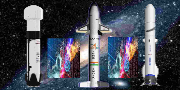 SpaceX vs Blue Origin vs ISRO - Reusable Rocket. Who Will Be The Winner Of Space Race?