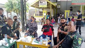 Dirgahayu TNI Ke-76, Lantamal I TNI AL Giat Serbuan Vaksinasi Maritim Bersama Snipers News dan Sniper Grup