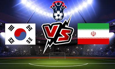 إيران و كوريا الجنوبية بث مباشر