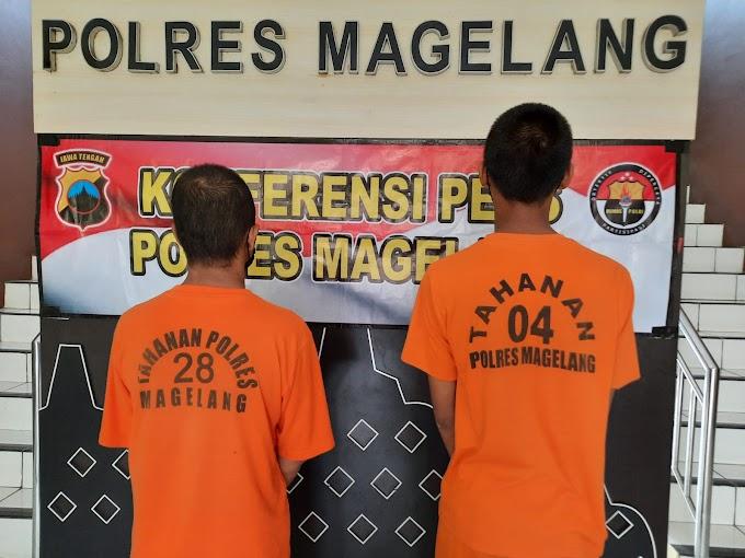3 Orang Pelaku Pencurian Dan Kekerasan Berhasil Diungkap Polres Magelang