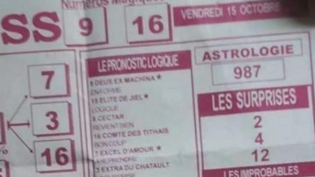 Pronostics quinté pmu vendredi Paris-Turf TV-100 % 15/10/2021