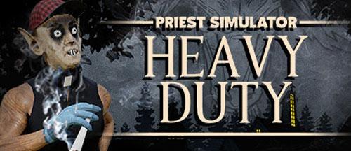 New Games: PRIEST SIMULATOR - HEAVY DUTY (PC) - Sandbox Simulation