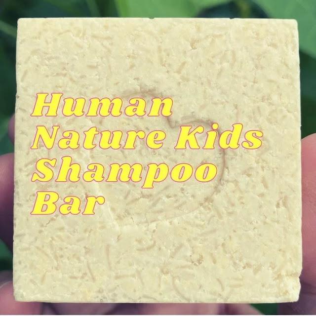 Human Nature Kids Natural Shampoo Bar product review