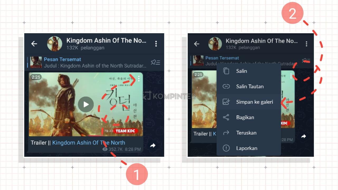 Download Film di Telegram Mudah