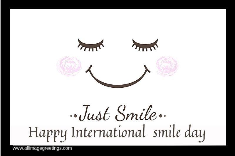 world smile day image