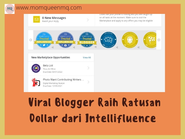 Viral Blogger Raih Ratusan Dollar dari Intellifluence