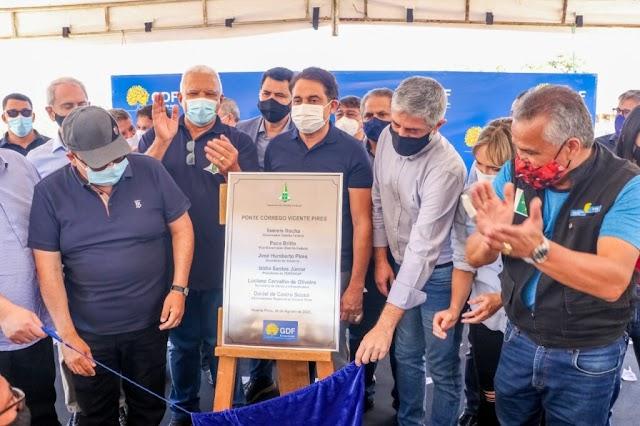 A Nova ponte na Rua 4 de Vicente Pires vai melhorar a vida de 20 mil pessoas