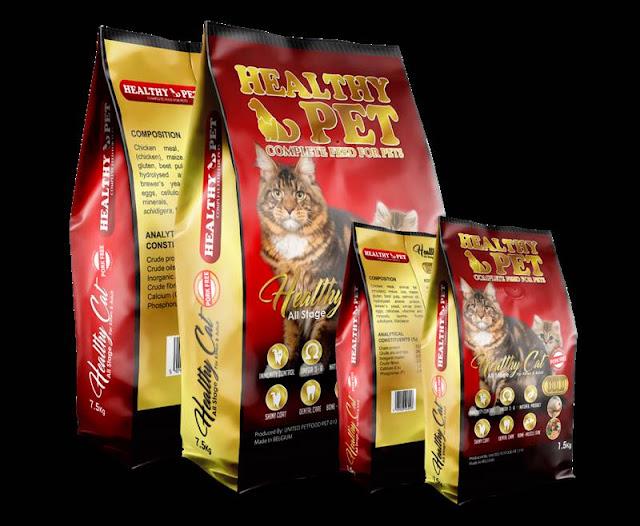 Kemasan Produk Healty Cat
