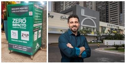Shopping:  DF Plaza Shopping tem ecoponto para descarte de lixo eletroeletrônico