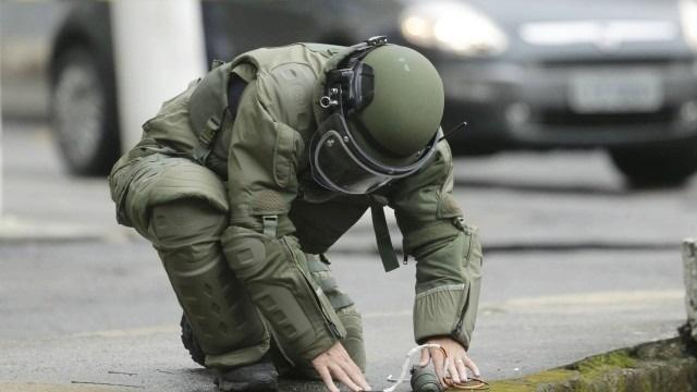 Esquadrão antibombas é acionado para desarmar explosivo em RO e descobre que objeto era pedaço de cano
