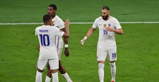 ملخص واهداف ومراسم تتويج مباراة فرنسا واسبانيا (2-1) نهائي دوري الامم الاوروبيه