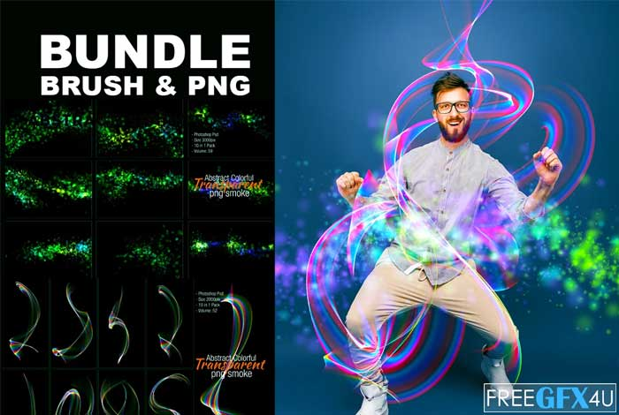 Bundle Brush And PNG Shape