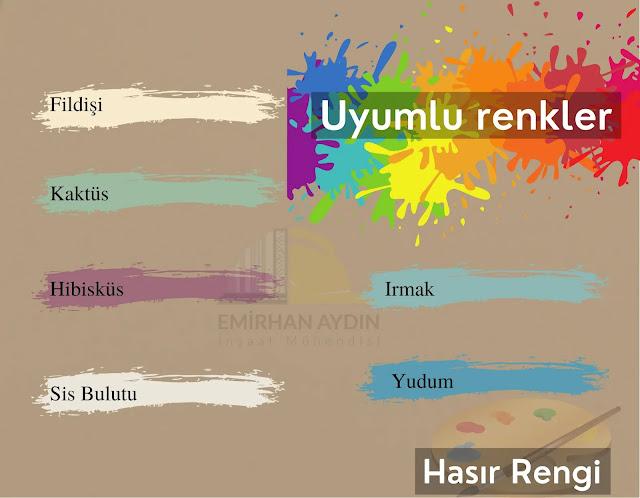 Duvar Boyası Renkleri - En İyi 10 Renk