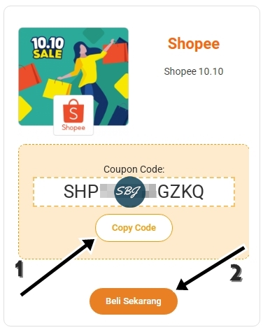 copy code diskon dan beli sekarang