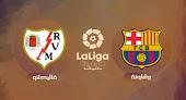 رايو فاليكانو يخطف فوز ثمين امام برشلونة في الدوري الاسباني