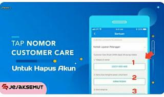 Cara menghapus akun DANA Premium secara Permanen