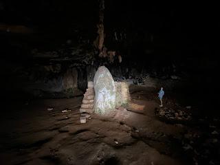 Gouverneto Monastery - nearby Arkoudiotissa ('she bear') Cave.
