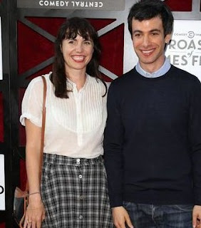 Sarah Ziolkowska with her ex-spouse Nathan Fielder