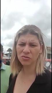 Em Sapé Tereza Carneiro recebe áudio em tom de ameaça vindo segundo ela do chefe de gabinete da PMS