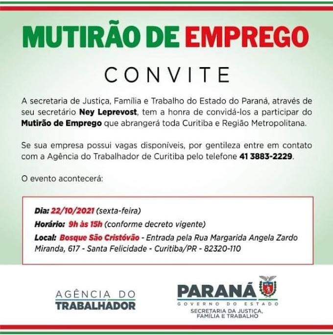 Multirão de Emprego, Curitiba, PR