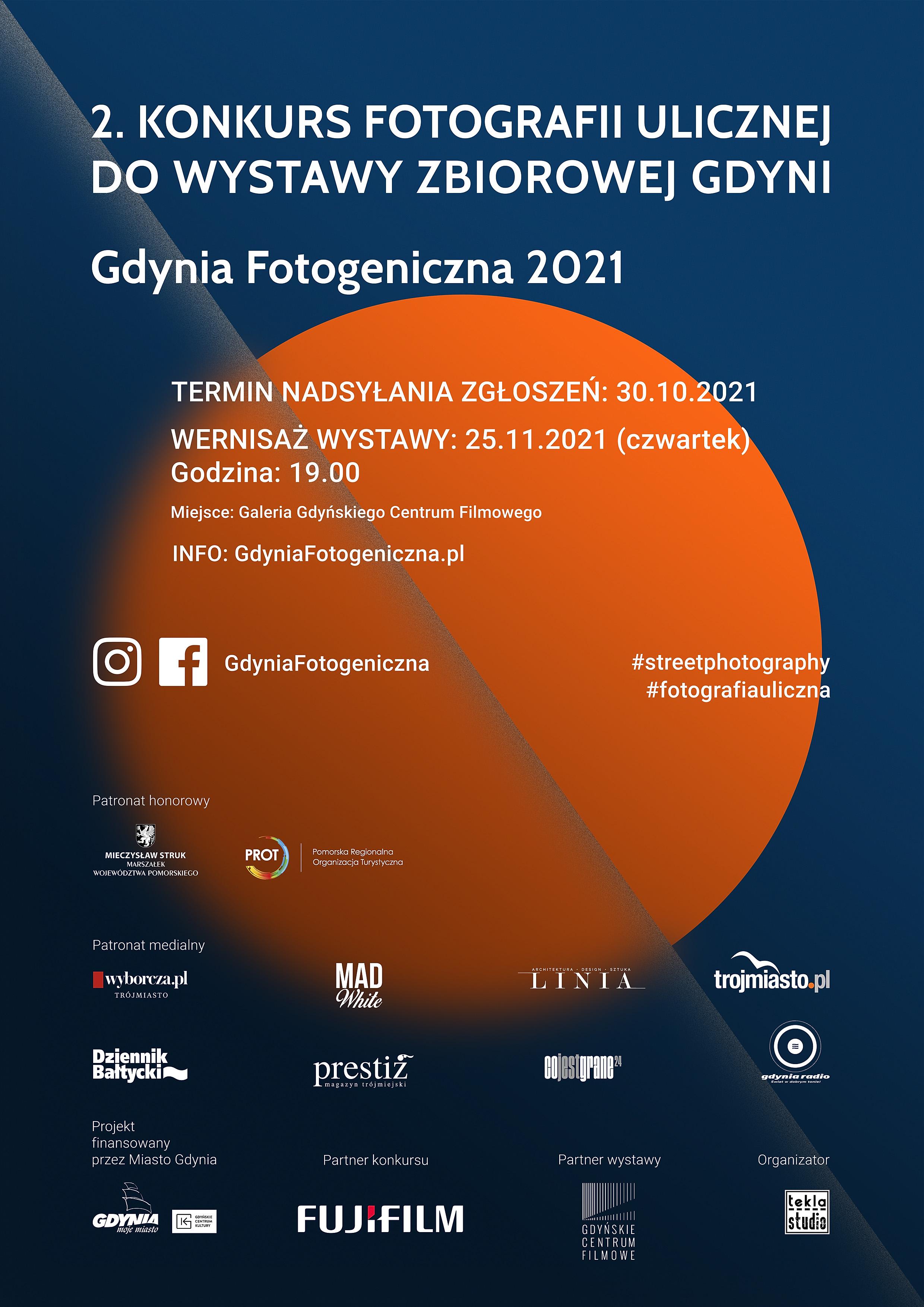 Gdynia Fotogeniczna 2021 Plakat