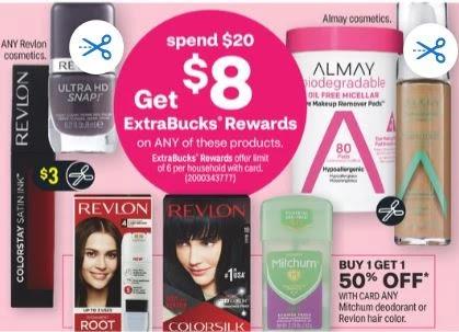Revlon Cosmetics, Hair Color Or Almay Cosmetics