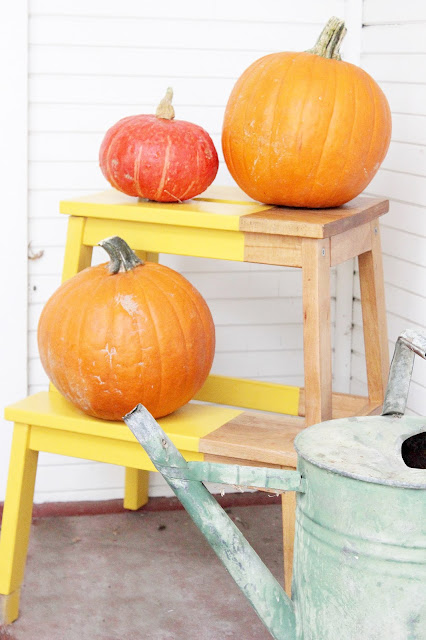 Thrifty Thursday How to Update and Use a Stepstool