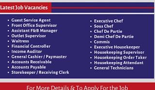 Gates Hospitality Job Requirements || (06 Vacancies) Dubai For Dubai UAE