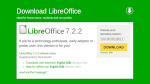LibreOffice 7.2.2 Community Released   Update Now