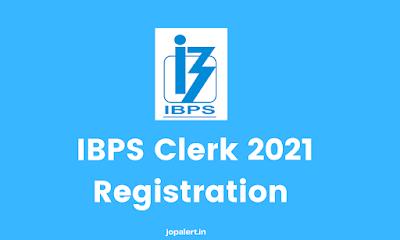 IBPS Clerk 2021 Registration